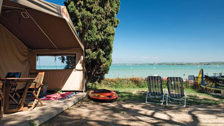 luxus Camping betten kinder teppiche glampen gehen